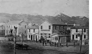 Salt Lake City Liquor Distilleries in 1857
