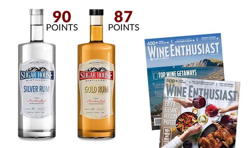 Sugar House Distillery Rum Scores Big By Wine Enthusiast Magazine