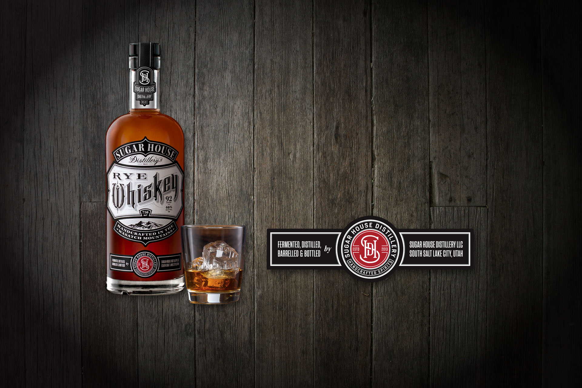 Sugar House Distillery Rye Whiskey