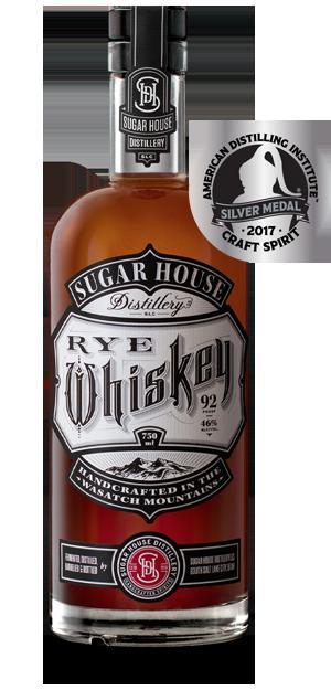 Sugar House Distillery Rye Whiskey, Salt Lake City Utah