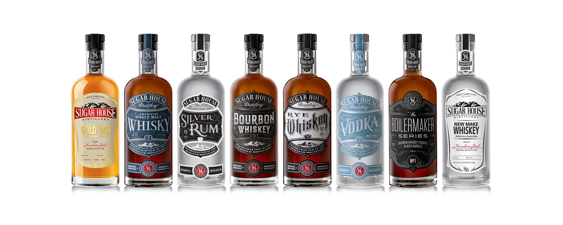 Sugar House distillery Spirits
