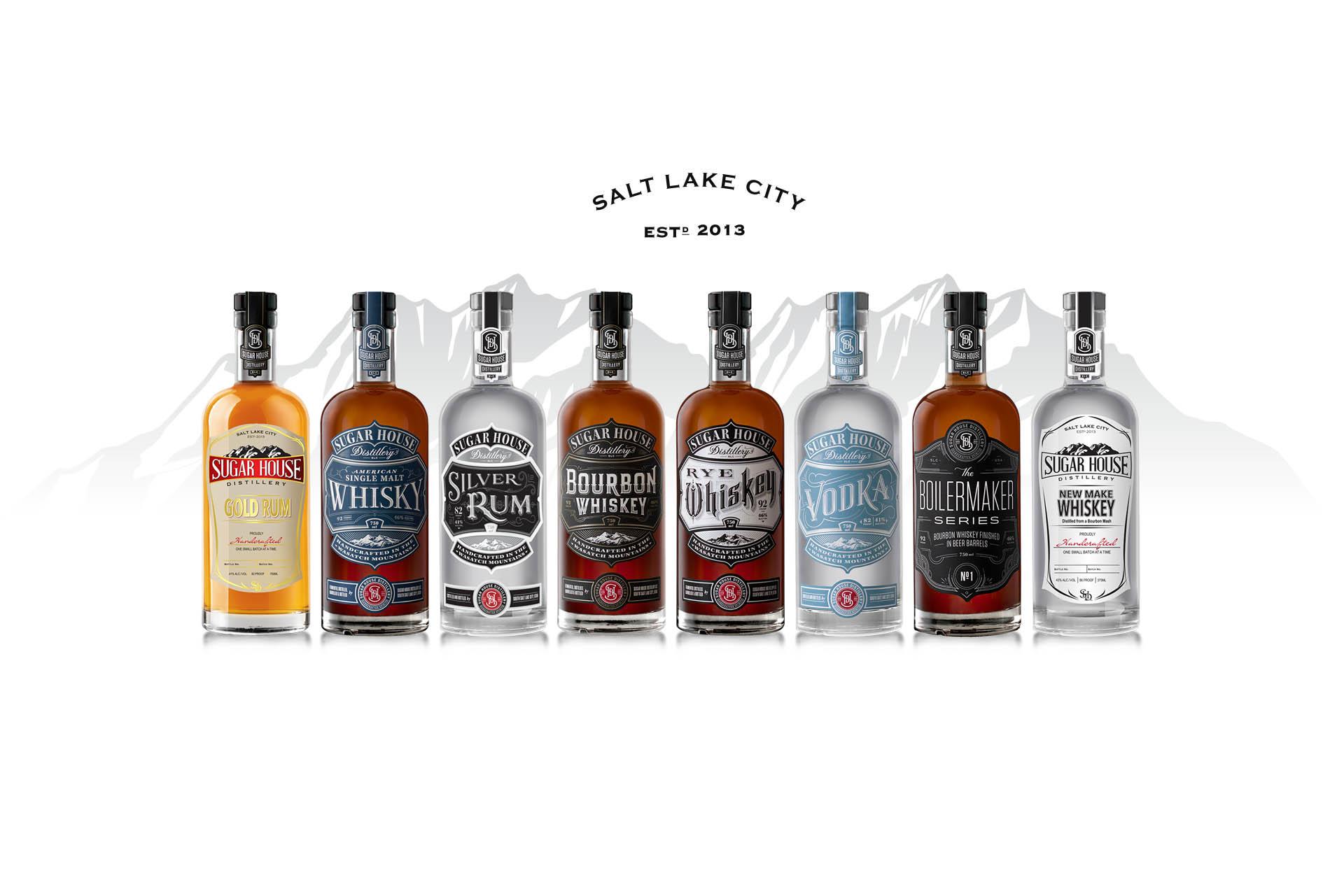 Sugar House Distillery Spirits