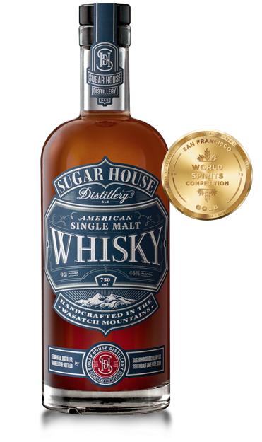 Sugar House Distillery SLC Utah Single Malt Whiskey