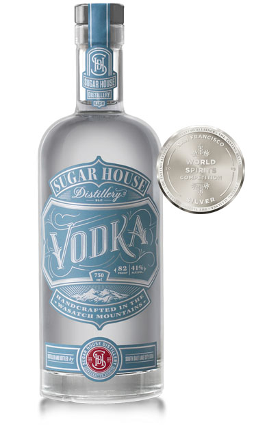 Sugar House Distillery Vodka - SLC, Utah